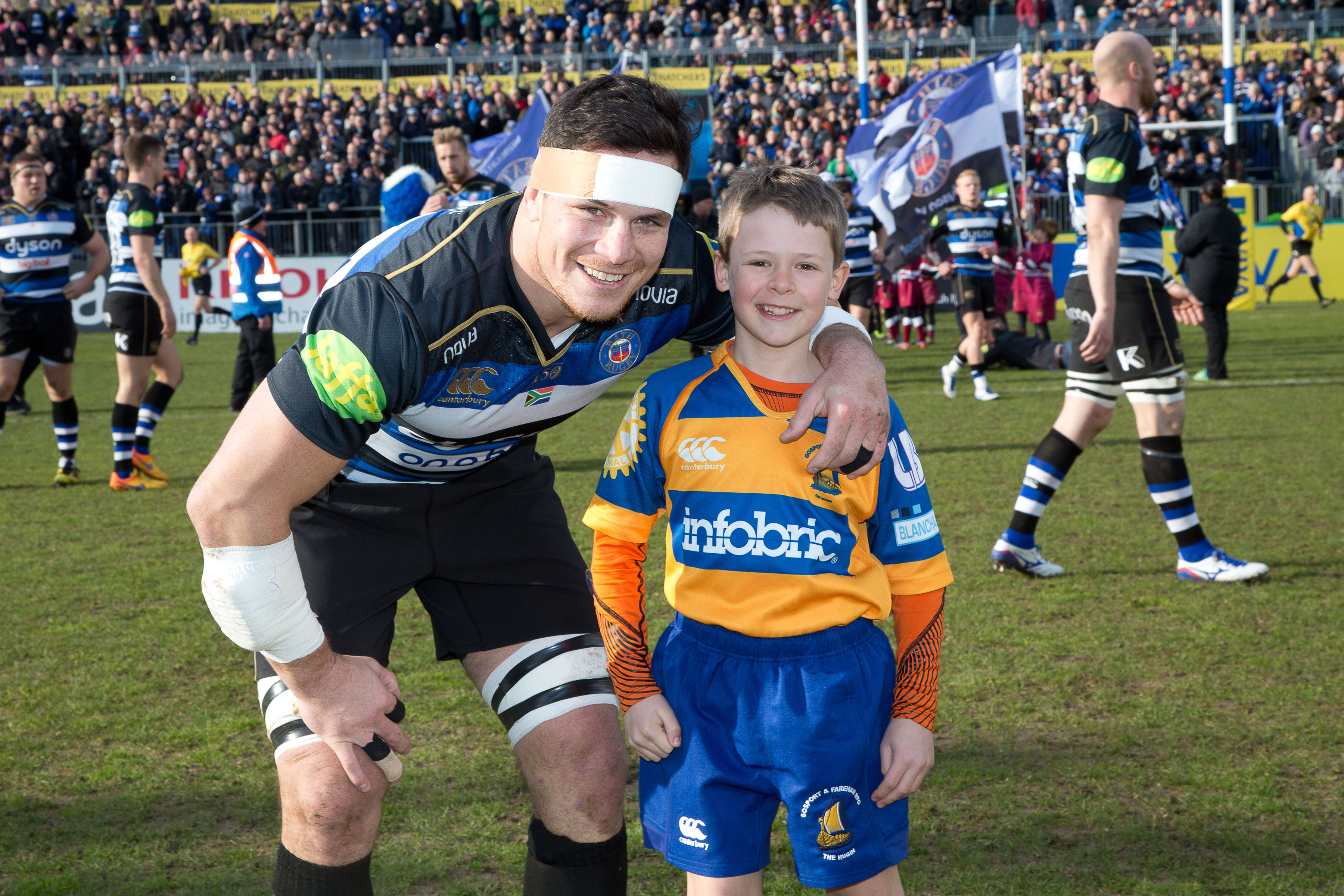 Partners with Bath Rugby